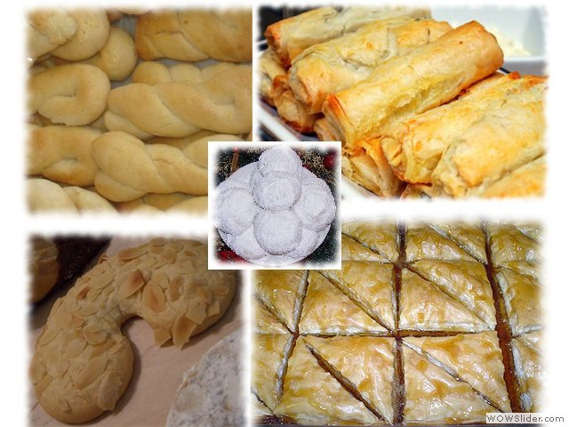 Greek and Russian Pastry Sale